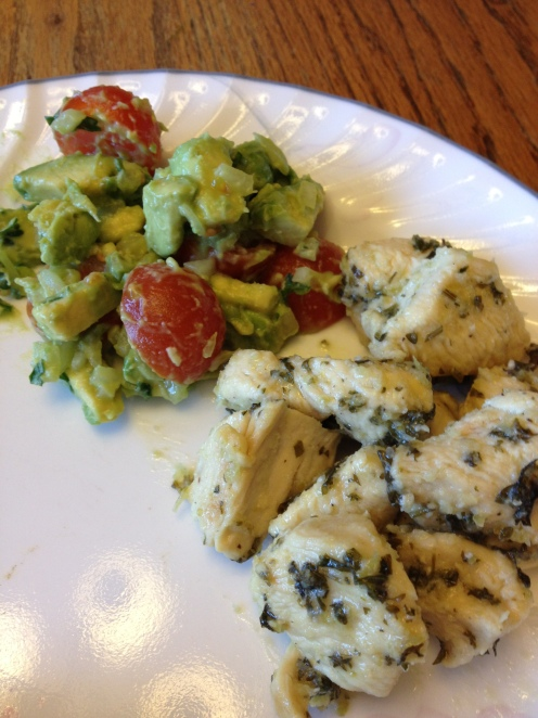 Paleo Cilantro/Lime Chicken with Avocado Salsa | courtney's craftin ...