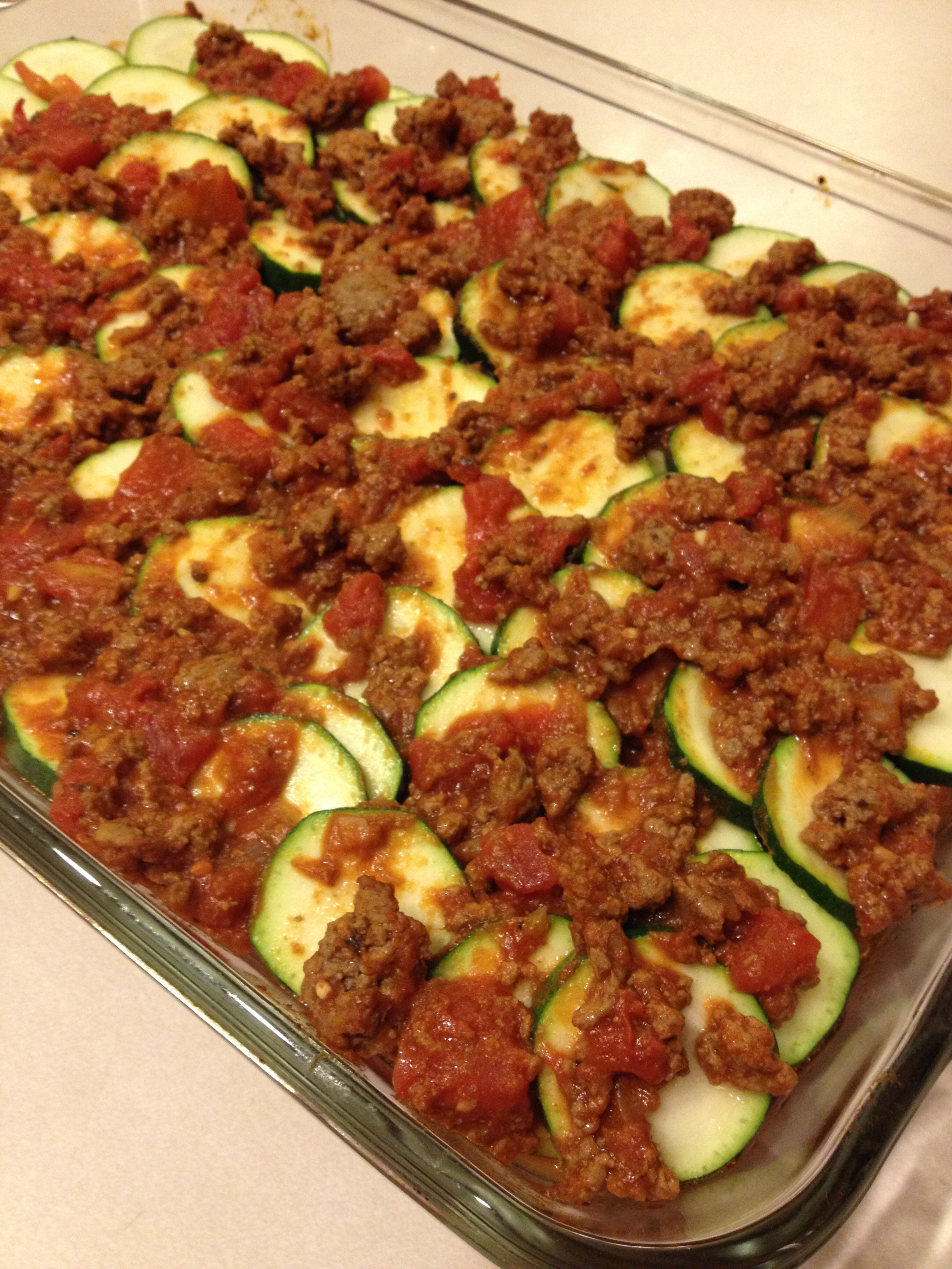 Paleo Zucchini Lasagna | courtney's craftin&cookin
