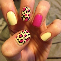 Cheetah Nails Tutorial