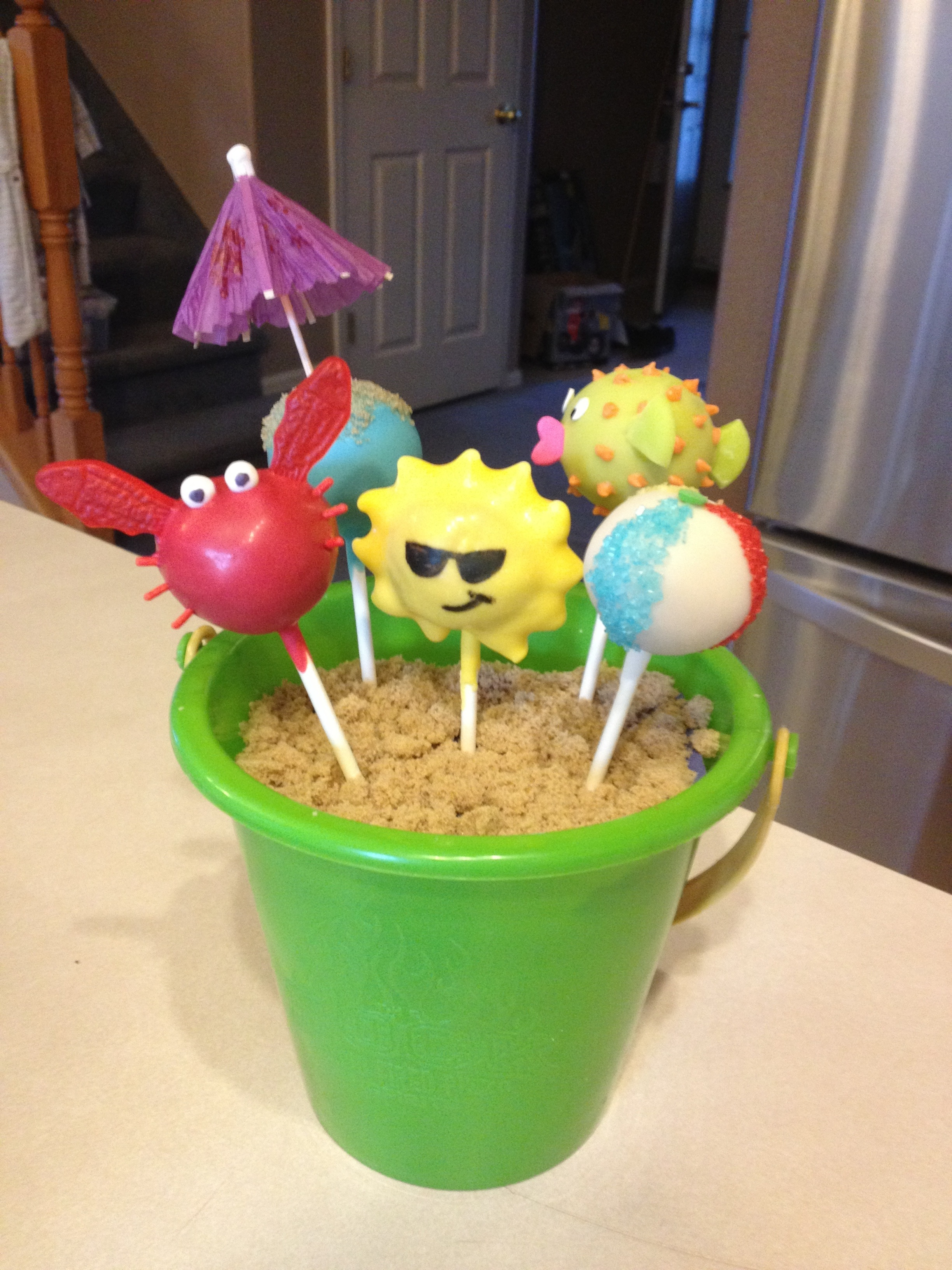 Cake Pops Beach And Ocean Courtney S Craftin Amp Cookin