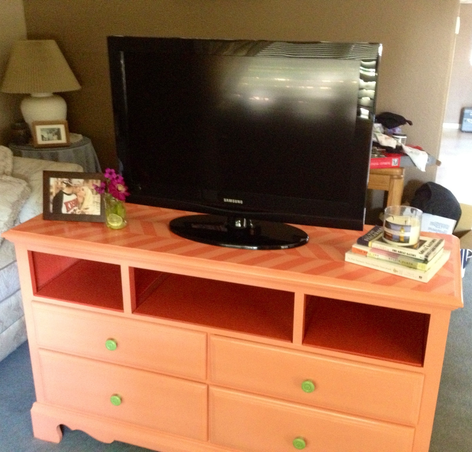 table rustic dresser makeover signed farmhouse coffee by diy tv soden and stand