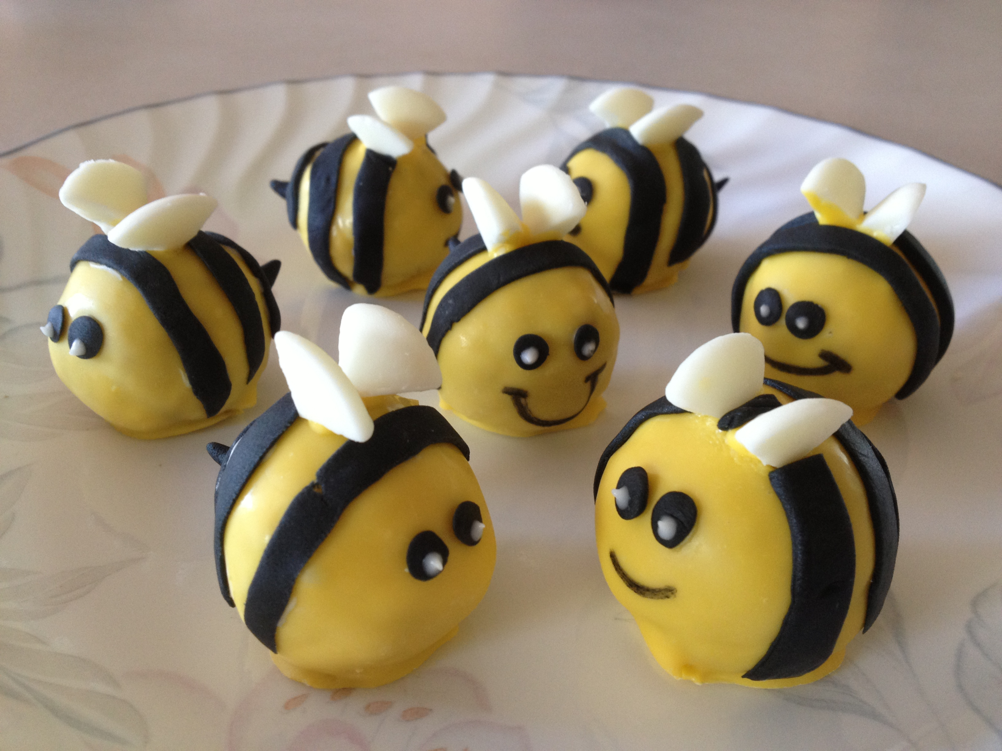 Bee Wedding Cake