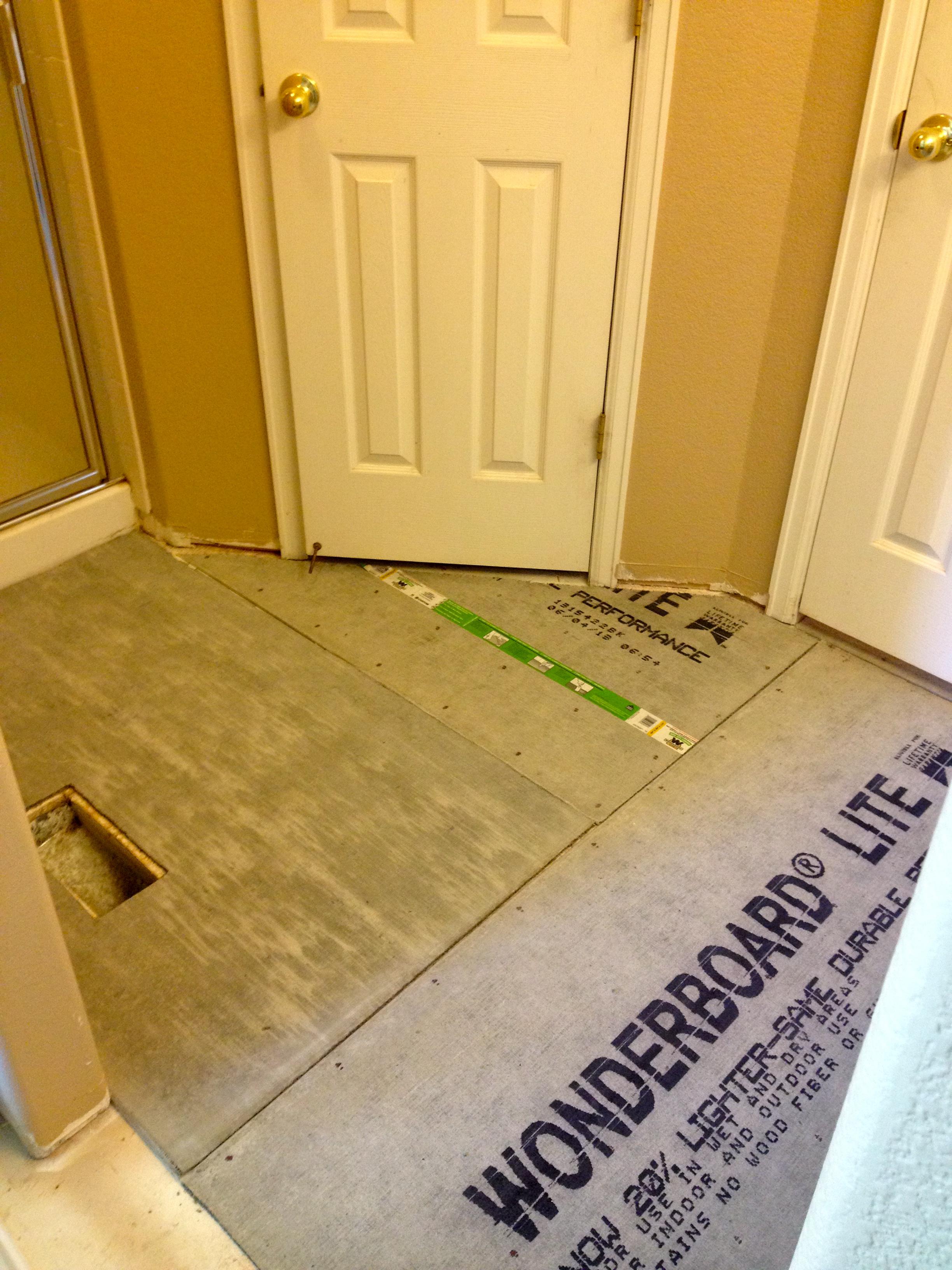 Bathroom How To Floor Tile Courtney S Craftin Amp Cookin