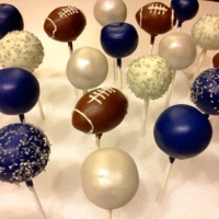 Weekly Cake Pops- Week Five | Footballs