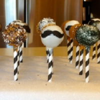 Weekly Cake Pops- Week 2 | Masculine and Mustaches