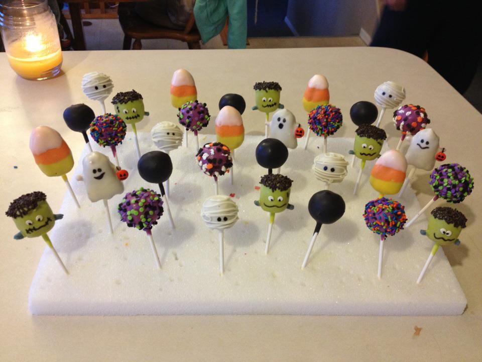 Creative Cake Pop Ideas