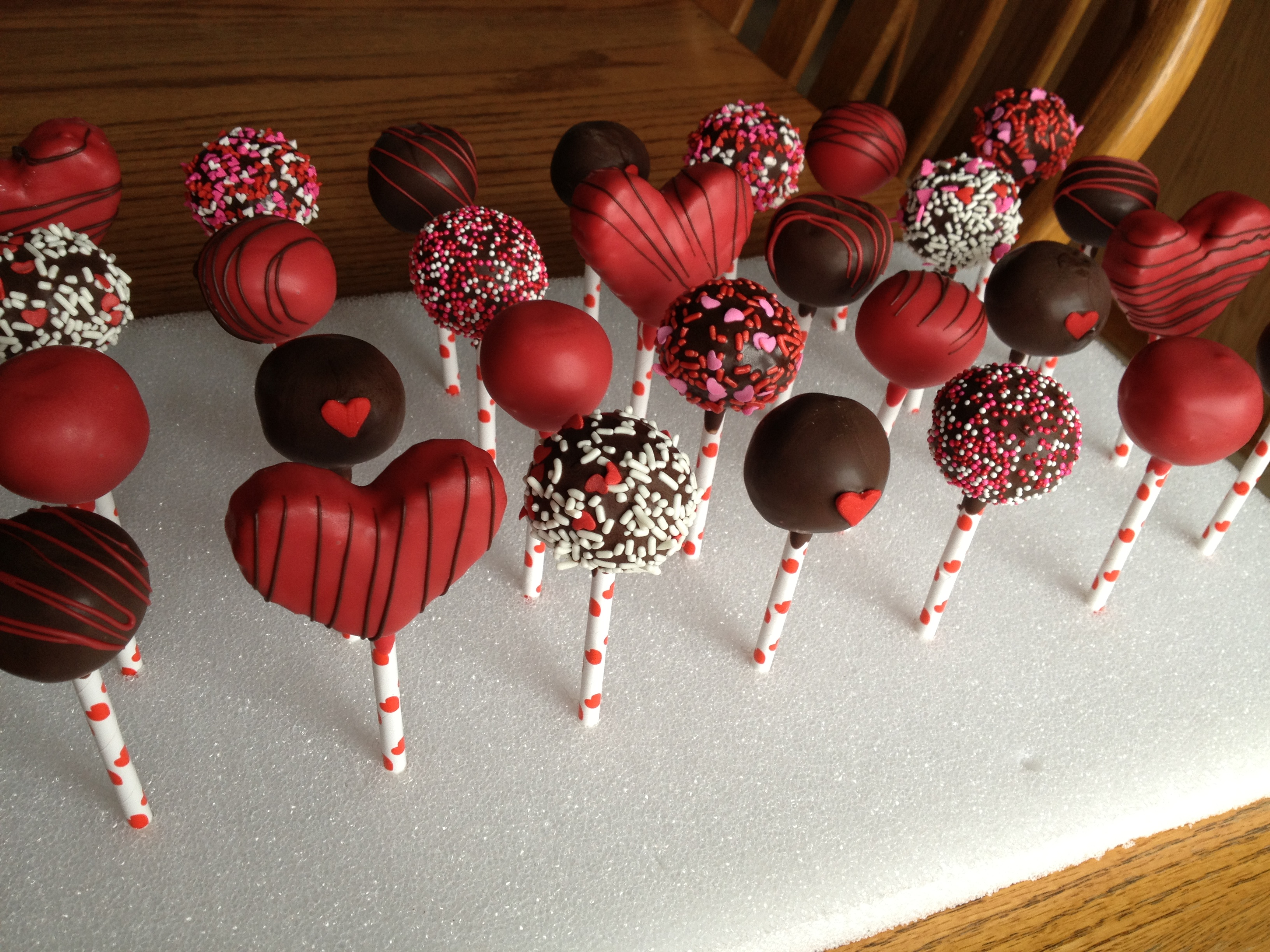cake pops are my favorite! Here is last year's valentine's day ...