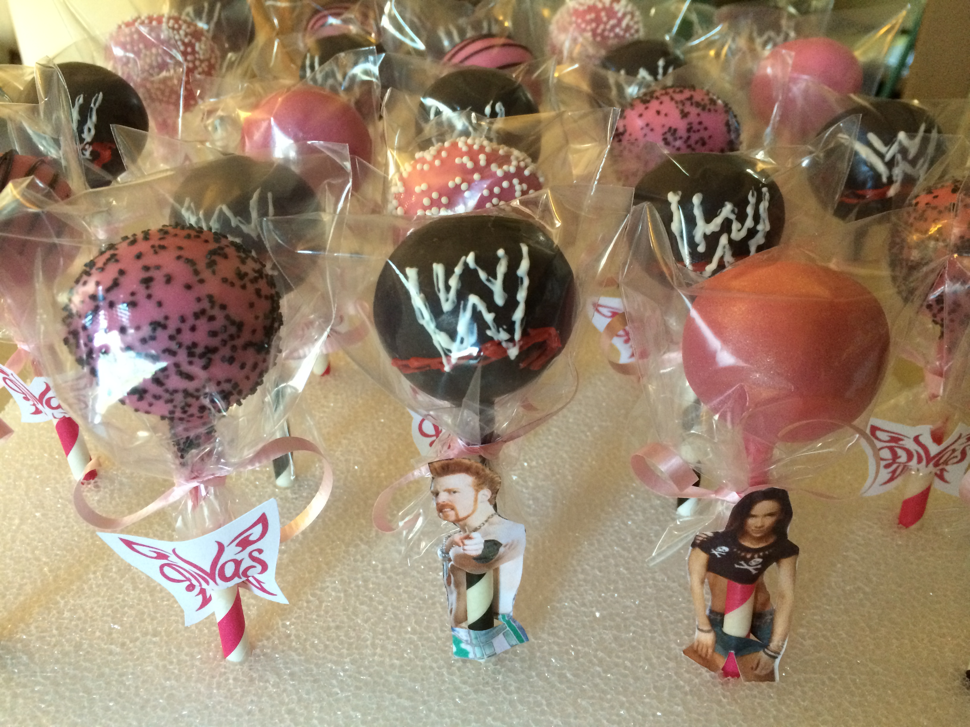How To Make Wwe Cake Pops